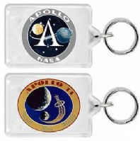 NASA Apollo 14 Mission Insignia Keyring